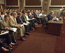 A Senate Ag Committee meeting