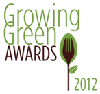 NRDC Growing Green Award logo