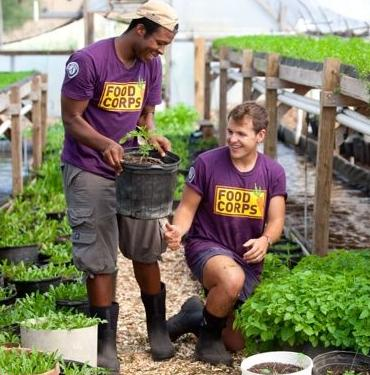 Food Corps leaders
