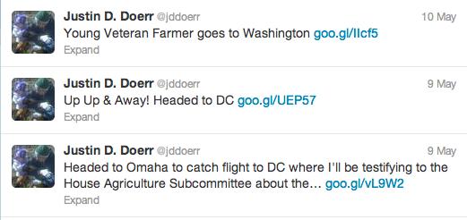 This Young Farmer Went to Washington: Justin D. Doerr of Nebraska
