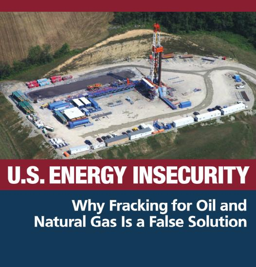Food and Water Watch Fracking Report
