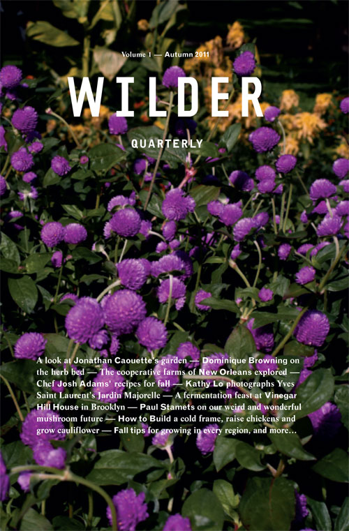 Wilder Quarterly front cover