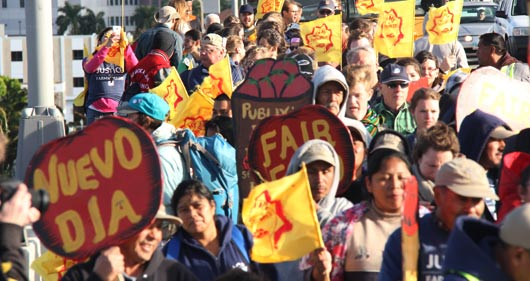 Support the CIW's Historic March in Florida