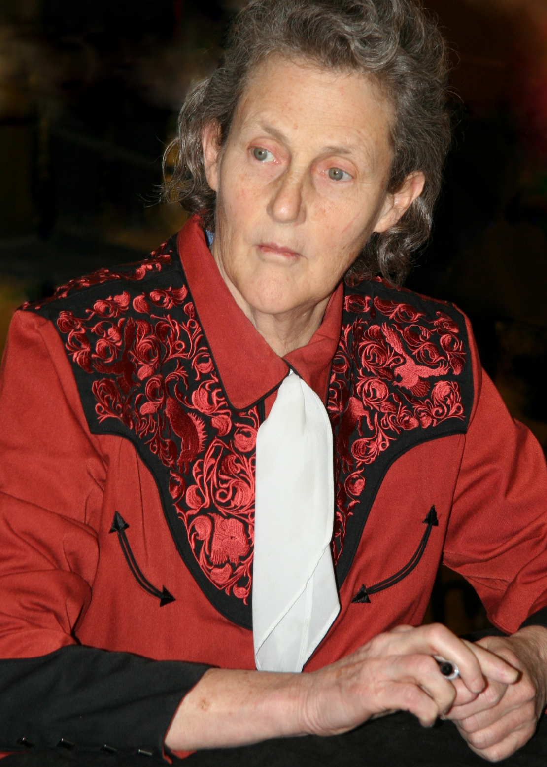 Animal Science expert Temple Grandin.  photo courtesy of Jonathunder