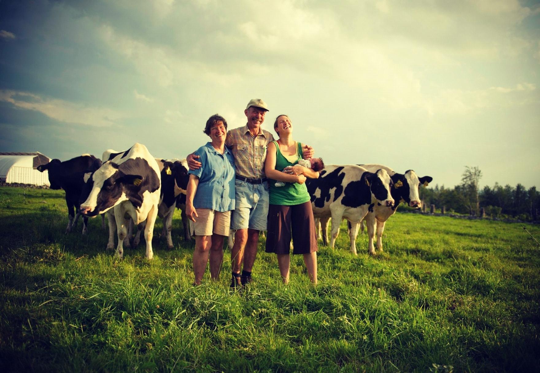 Corse Family Farm - family pic