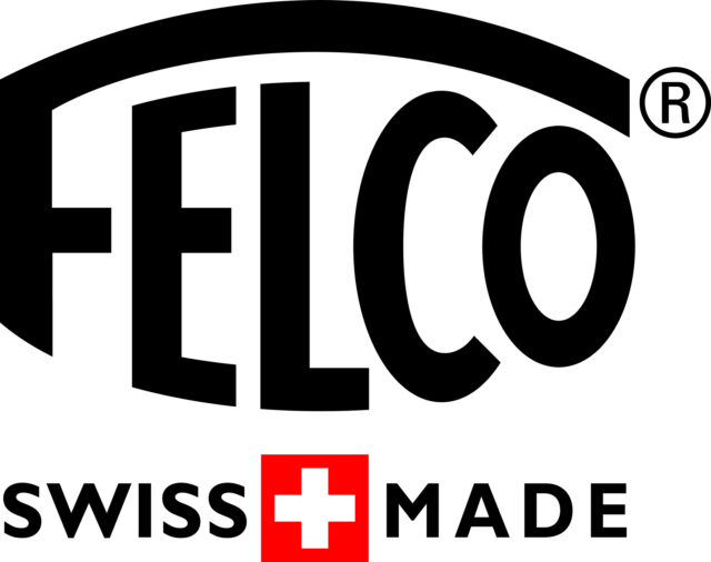 LOGO - FELCO Swiss Made - BLACK RED Hi RES-2