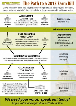 NSAC infographic farm bill 2013