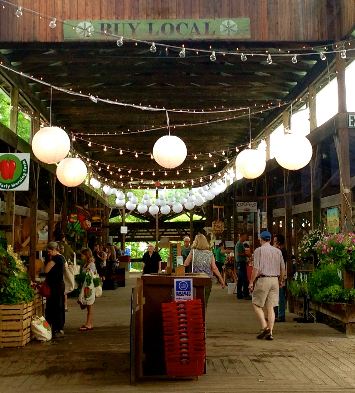 A visit to the Ithaca, NY Farmers Market