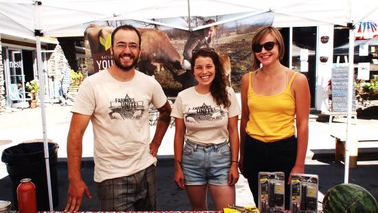 NYFC represents at Pig Mountain 2013! Photo courtesy of Isabel Braverman of the River Reporter.