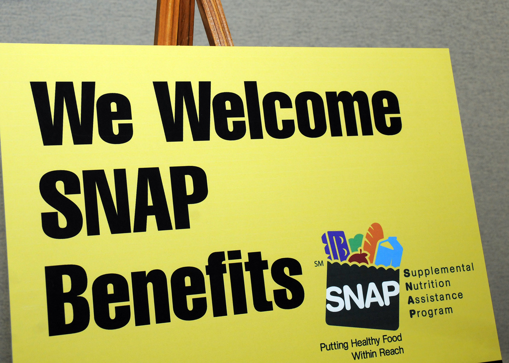 SNAP sign