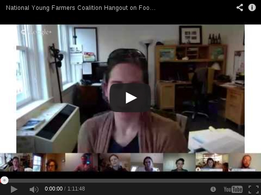 NYFC Food Safety Action hangout