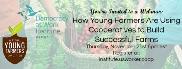Learn more about Cooperative Farming with this upcoming webinar