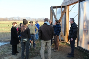 NYFC Harden roundtable - farm tour