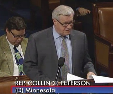 Rep. Peterson on farm bill
