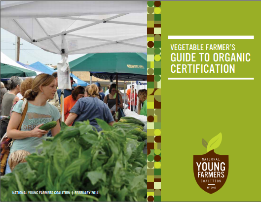 Vegetable Growers Guide to Organic Certification - cover