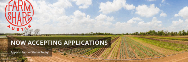 Farmshare Austin currently seeking veggie grower students