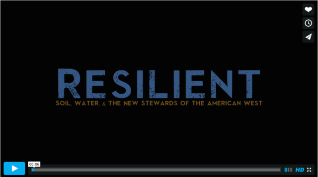 "NYFC launches ""RESILIENT,"" new film on water conservation in the West"