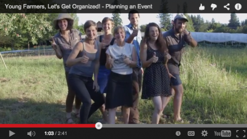 Young Farmers, Lets Get Organized - Planning an Event - screenshot 2