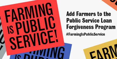Farming is Public Service - blog image