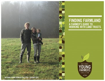 A Farmer's Guide to Working with Land Trusts - cover