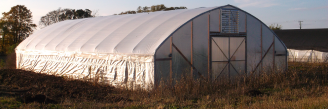 Wild Ridge Farm - Policy - Hoop House Exterior - banner