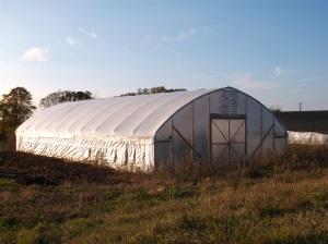 Wild Ridge Farm - Policy - Hoop House Exterior