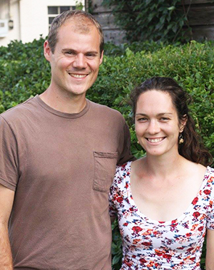 Maggie and Will Summer 2014