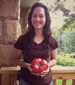 Maggie_with_Huge_tomato_crop