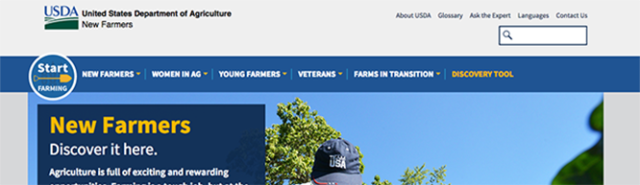 5 things to love about USDA's New Farmers website