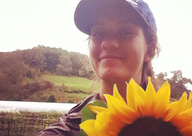 sunflower selfie_cropped