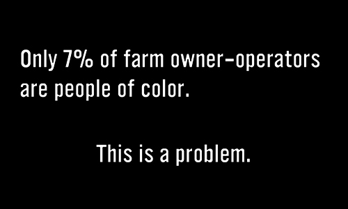 Ending violence against people of color in food and farming
