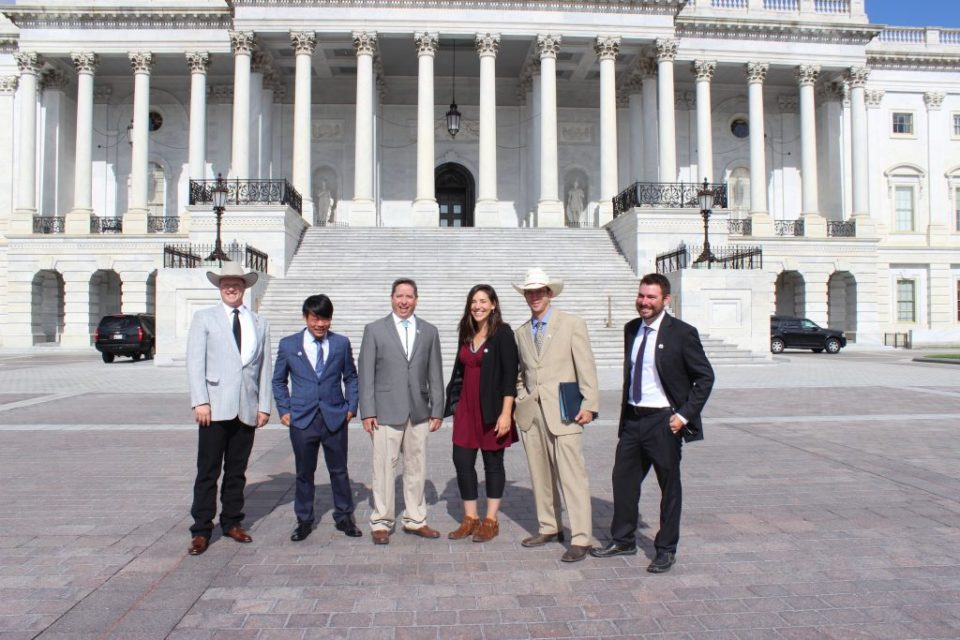 Young Farmers Bring the West's Historic Drought Straight to the Nation's Capital
