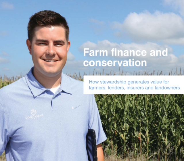 EDF Report: How on-farm conservation can generate financial value
