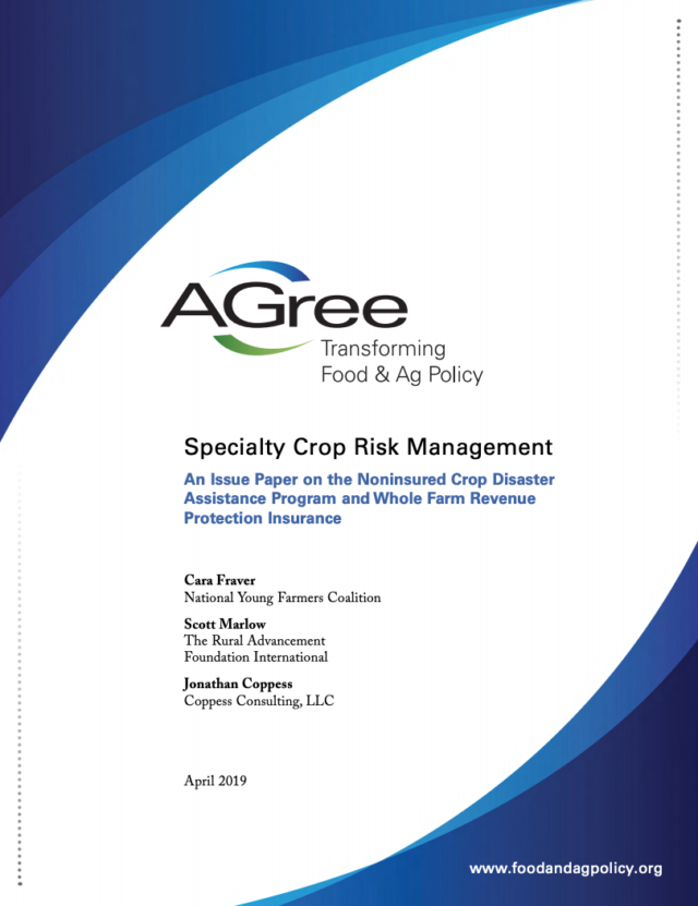 Specialty Crop Risk Management