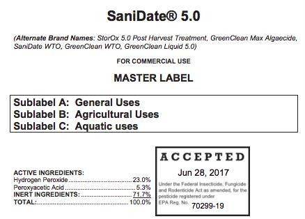 Tipsheet for Selecting a Sanitizer