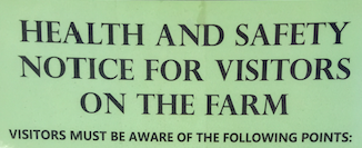 Visitor Signs and Policies
