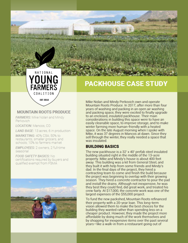 Produce Safety Case Study: Mountain Roots Produce