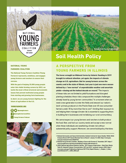 2020 Illinois Soil Health Policy Report