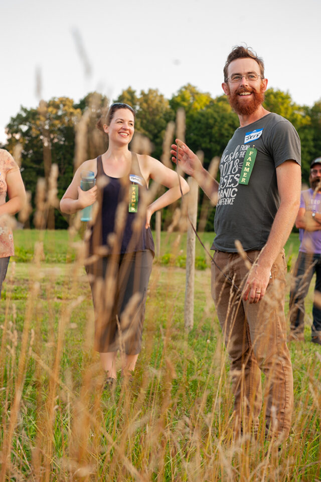 Young Farmers and Climate Change: Katie Funk and Jeff Hake at Funks Grove, Illinois